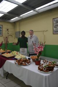 Nuestro increible amigo y chef haitiano