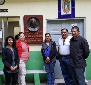 Visita de la Cónsul de El Salvador en Monterrey, Raquel Romero.